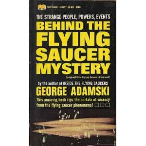 TITLE: FLYING SAUCERS FAREWELL): GEORGE ADAMSKI:  Books