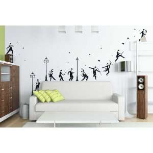 Art Appliques   Top Hat Dancing Wall Decals Baby
