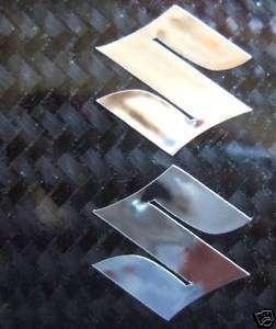 chrome S Suzuki gsxr gsx r 600 750 1000 sticker decal