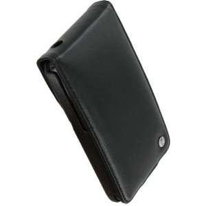 Noreve Black Leather Flip Case HTC EVO 4G Electronics