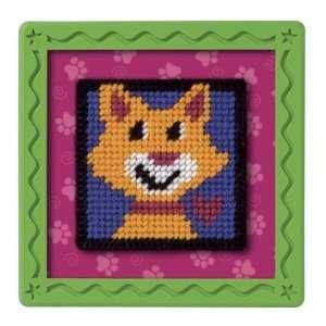 Stitch X Press   Loving Paws Plastic Canvas Kit: Toys & Games