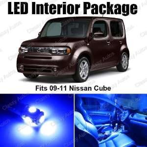 Nissan Cube Blue Interior LED Package (5 Pieces)