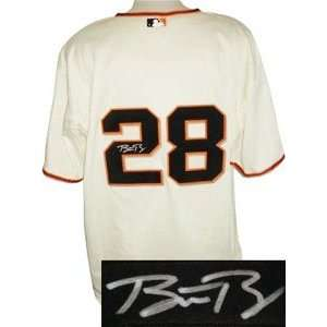 Buster Posey Signed San Francisco Giants Jersey Sports