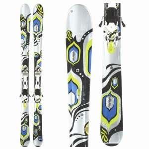 K2 Lotta Luv Skis + Marker 11.0 TC Bindings   Womens 2010