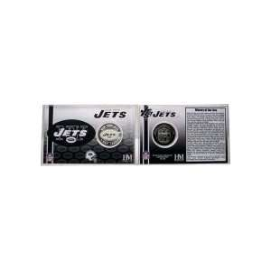 New York Jets NFL Team History Coin Card Sports