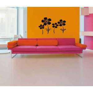 Flower Field Vinyl Wall Decal Sticker Graphic Large