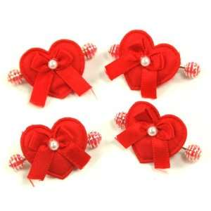 / Toddler/ Girls Heart Spaed Spring Hair Clip (4121 3) Toys & Games