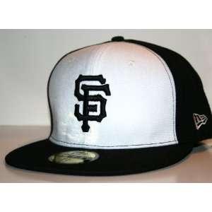 San Francisco Giants White New Era Coop 5950 MLB Cap [ 7 3