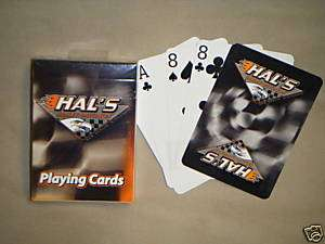 Hals Harley Davidson Custom Playing Cards