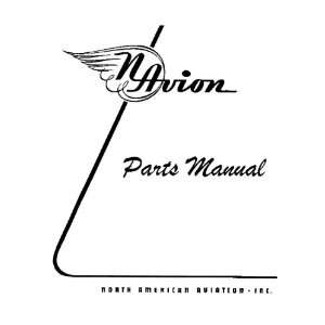 North American Aviation Navion Aircraft Parts Manual