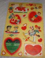 CHILDRENS VALENTINES IN BOOKLET UNUSED 16 MOVABLE CARDS FOR ASSEMBLY