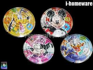 Mickey Mouse Party Toys 4x Puzzle Maze Game m828