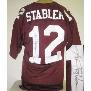Ken Stabler Signed Alabama Crimson Tide Jersey Sports
