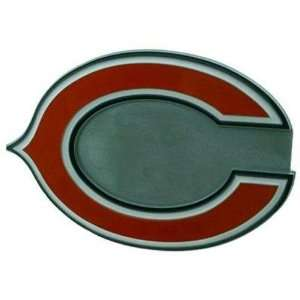 Chicago Bears NFL Pewter Logo Trailer Hitch Cover