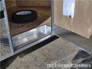 5x24 car hauler enclosed motorcycle cargo trailer 24
