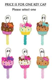 Hello Kitty Assorted Cupcake Key Cap   CHOOSE ONE