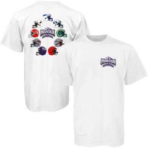 NCAA White Mountain West Conference T shirt Sports