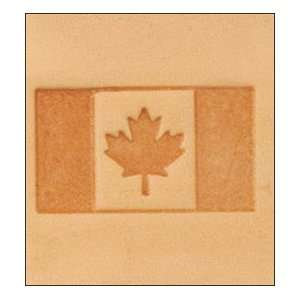 Tandy Leather 3D Canadian Flag Stamp 8576 00 Arts, Crafts