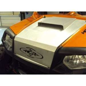 Hood with Scoop by HCR. 5052 Aircraft Aluminum. RZR 01070 Automotive