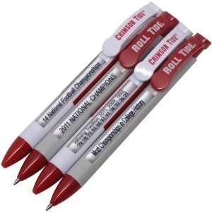 NCAA Alabama Crimson Tide 4 Pack Message Pens Sports