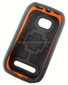 OEM T Mobile Black D3O Flex Hard Gel Shell Cover Case for Nokia Lumia