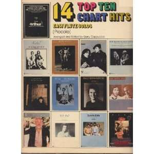 14 Top Ten Chart Hits (Easy Flute Solos, Volume 2) Books