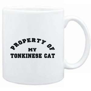 Mug White  PROPERTY OF MY Tonkinese  Cats Sports