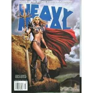 Heavy Metal Magazine #115 (March 2008) Books