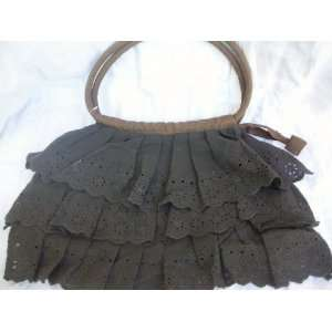 Trendy Cotton Lace, 3 Layer, Girl Summer Purse, Hand Bag