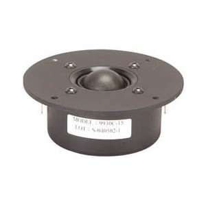 Usher 9930C 15 1 1/8 Shielded Textile Dome Tweeter