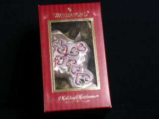 Waterford Holiday Heirloom Celtic Cross Ornament  NIB
