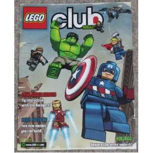 Lego Club Magazine, May   June 2012 Featuring LEGO SUPER HEROES