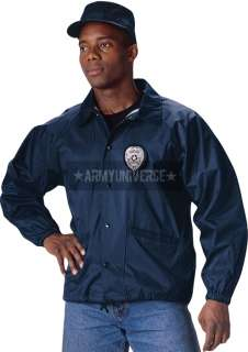 Military Law Enforcement Fleece Lined Coaches Jacket