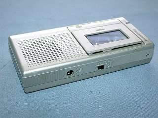 Panasonic Microcassette RN 120A Hand Held 2 Speed Recorder & Player