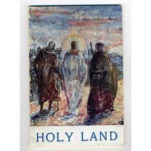 The Holy Land Short Illustrated Guide Jerusalem 1960