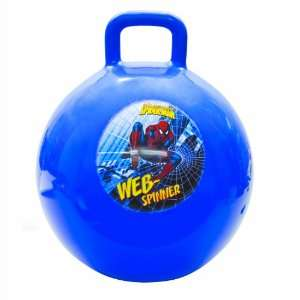 Franklin Sports Marvel Spider Man Hopping Ball: Toys & Games
