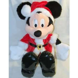 Disney Christmas Mickey Mouse Plush Toy   15 Toys