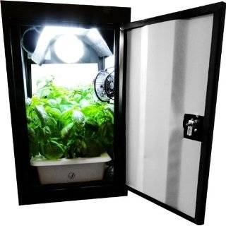 Cool Cab Hydroponic Grow Box Plug N Play Closet Grow Light System
