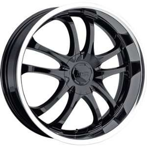 MSR 85 18x7.5 Black Wheel / Rim 4x4.25 & 4x4.5 with a 40mm