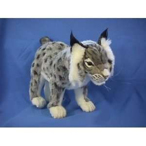 Hansa Iberian Lynx Stuffed Plush Animal Toys & Games