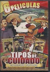Tipos De Cuidado DVD NEW 6 Pk Pedro Infante Jorge Negrete Javier Solis
