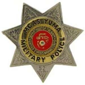 MCAS Yuma Military Police Badge Pin 1 Arts, Crafts