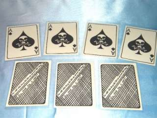 VIETNAM WAR ACE OF SPADES  DEATH CARD 12 EACH FOR ONLY $5.00 IN