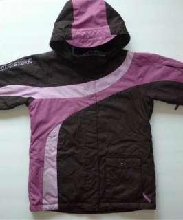 ORAGE Girl Pink & Brown Winter Ski Jacket Coat XL 14