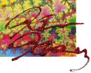 KEN KESEY SIGNED ACID BLOTTER ART LTD. EDITION LSD