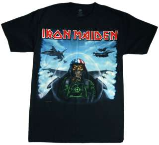 Iron Maiden   Texas Jetfighter T Shirt