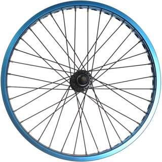 Bmx Bike Wheels/wheelset (Wide Rim) Blue