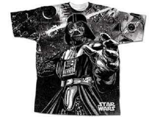 Licensed Star Wars Lord Vader Darth Mens Tee Shirt Lightweight