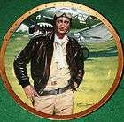 john wayne symbol of usa s fighter pilot collectors plate