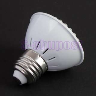 3W 60 LED Cool Warm White Light Energy Saving Power Lamp Cup Bulb E27